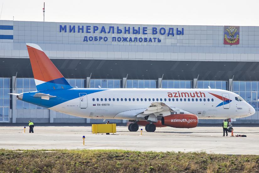Авиакомпания Азимут открыла продажи билетов Минеральные Воды — Симферополь