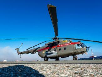 В аэропорт Симферополь прибыли два вертолета Ми-8
