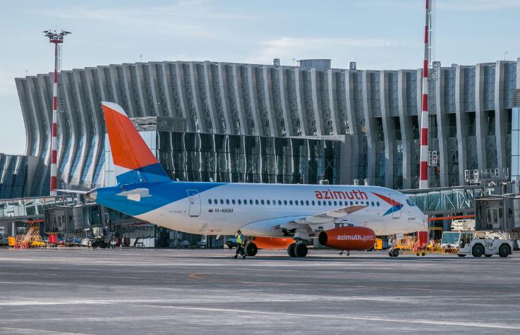 Авиакомпания азимут начала продажу билетов Элиста-Симферополь