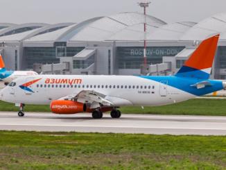 Авиакомпания Азимут начала продажи билетов из Ростова-на-Дону в Симферополь по летнему расписанию
