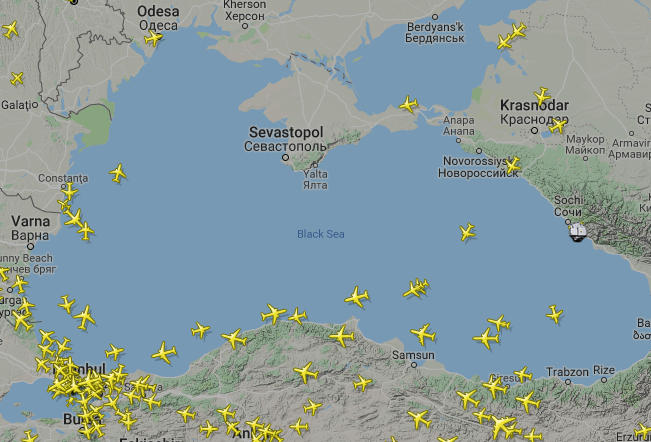Самолеты над Крымом онлайн