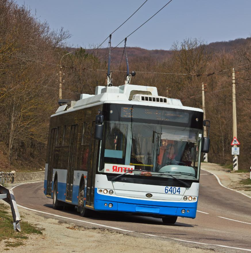 Троллейбусные маршруты из нового терминала аэропорта Симферополь