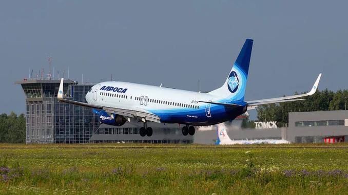 """А/к """"АЛРОСА"""" с 13 июня начинает выполнять рейсы Томск-Симферополь"""