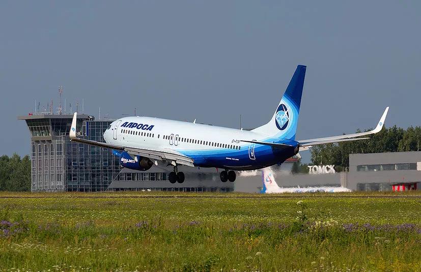 А/к «АЛРОСА» с 13 июня начинает выполнять рейсы Томск-Симферополь