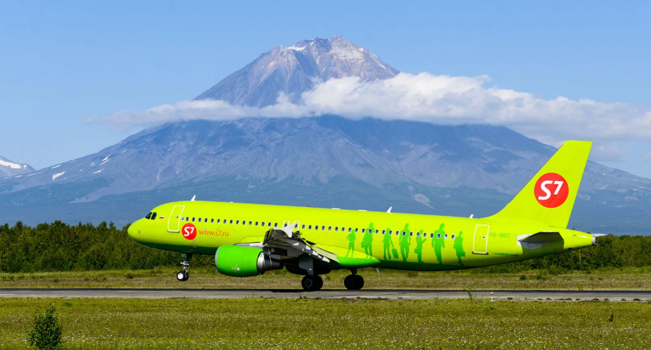 Рейсы авиакомпании «S7 Airlines» в Симферополь