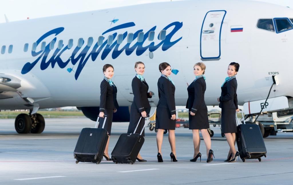 Авиакомпания Якутия - прямые рейсы в Крым (Симферополь)