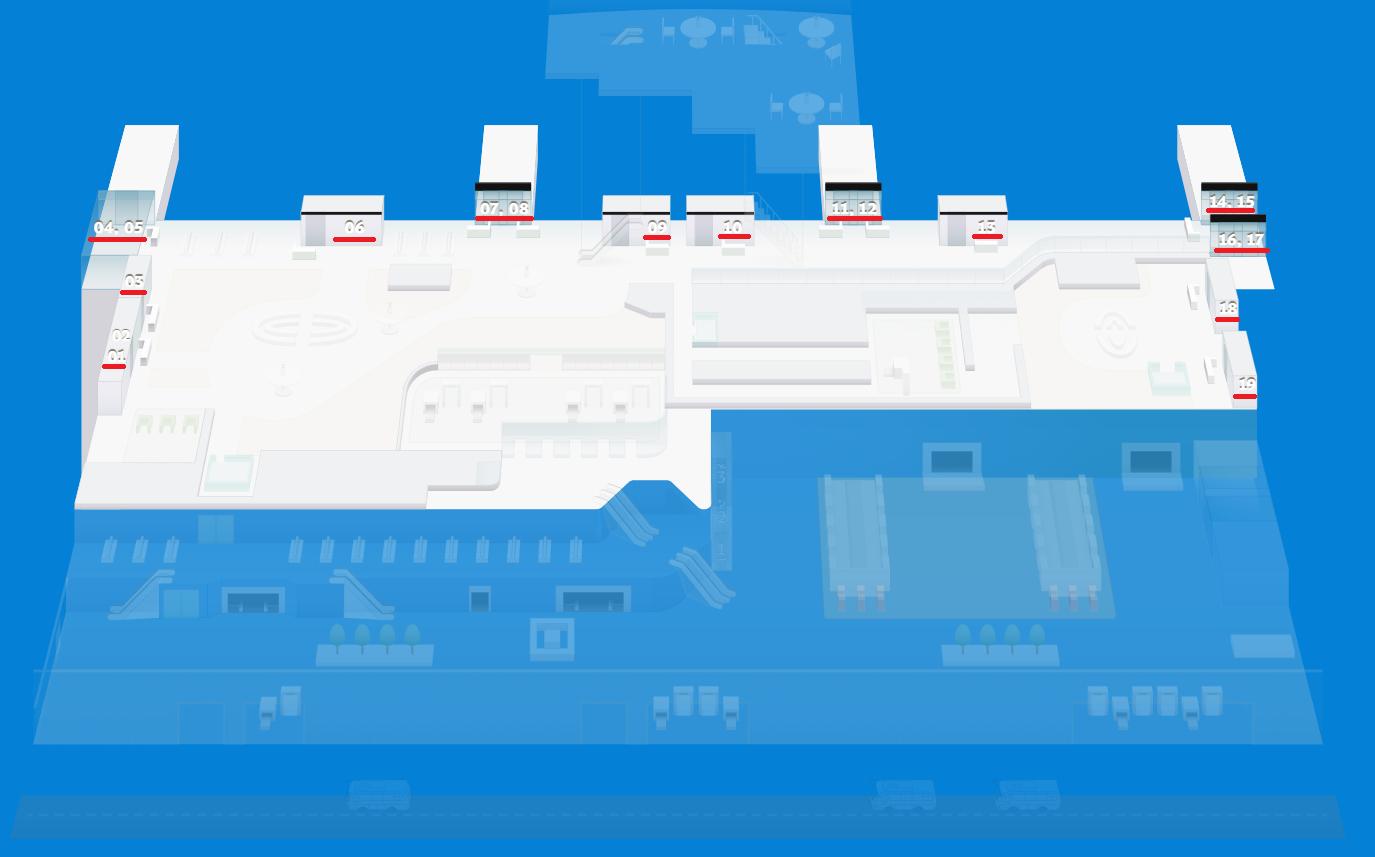 Выходы на посадку в аэропорту «Симферополь»