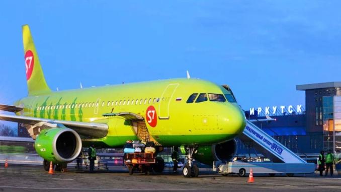 Авиакомпания s7 начинает выполнять прямые рейсы Симферополь-Иркутск