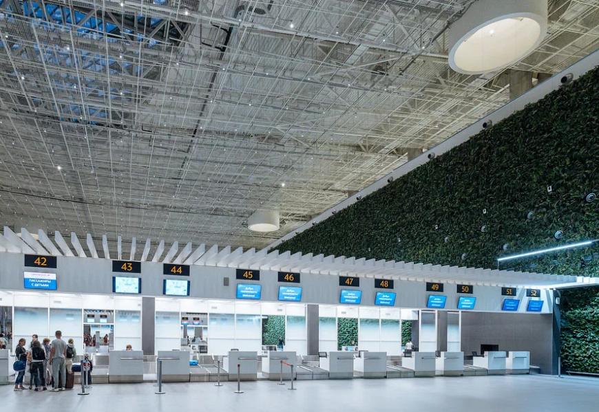 Итоги работы аэропорт Симферополь в мае 2020 года